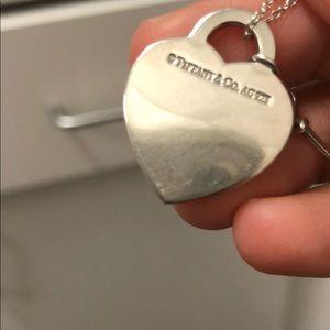 Tiffany & Co. Jewelry - Return to Tiffany Heart Tag with Key Pendant